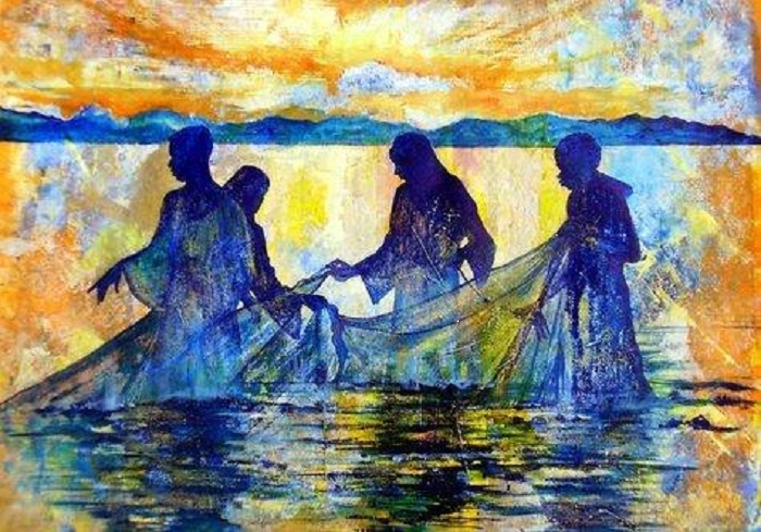 an analysis of the fishers of men Fishers of men the twelve arrived at their final intimate relation to jesus only by degrees, three stages in the history of their fellowship with him being distinguishable in the first stage they were simply believers in him as the christ, and his occasional companions at convenient, particularly festive, seasons.